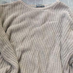 Brandy Melville mauve sweater